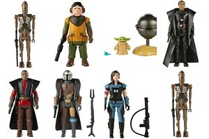 Star Wars Retro Collection The Mandalorian FULL SET of 7 BRAND NEW IN STOCK NOW