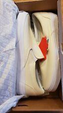 NIB - Vans White Classic Slip-On - SZ. 9.5 Men's - SZ. 11 Women's