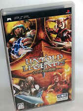 Untold Legends Brotherhood of the Blade USATO OTTIMO SONY PSP ED JAP VBC 53780