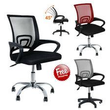 Office Chair Computer Desk Rolling Mid-Back Mesh Height Adjustable Ergonomic