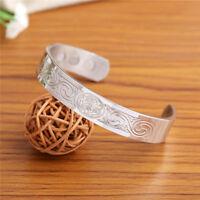 Stainless Steel Norse Viking Irish Triskele Celtic Knot Health Magnetic Bracelet