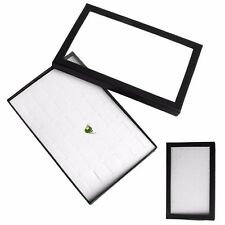 36 Slot Ring Jewelry Display Storage Box Tray Show Case Earring Holder Organiser