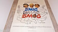 claude lelouch SMIC SMAC SMOC ! affiche cinema 1970