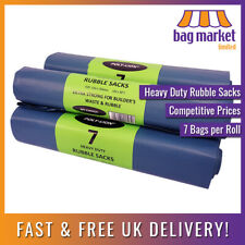More details for 35 x heavy duty rubble sacks 400gu | strong/bags/builder/refuse/waste | 20 x 30