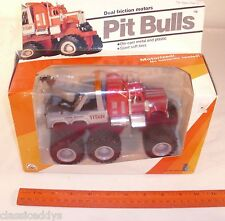 ZEE TOYS PIT BULLS DUAL FRICTION GIANT 6X6 SEMI TOW TRUCK TRACTOR BOXED UNUSED