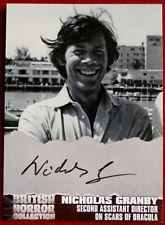 BRITISH HORROR - Autograph NG1 - NICHOLAS GRANBY - SCARS OF DRACULA