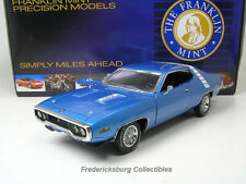 Franklin Mint 1971 Plymouth Road Runner 6 Pack - Nmbrd Ltd Ed Of 5000-Mib Papers