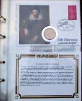 Numisbrief mit DDR 5 Mark von 1971 Johannes Kepler
