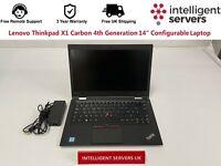 "Lenovo ThinkPad X1 Carbon 4th Generation 14"" Configurable Laptop"