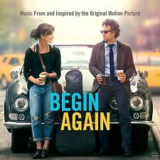 BEGIN AGAIN - MOTION PICTURE SOUNDTRACK: CD ALBUM (July 7th 2014)