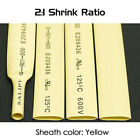 Dia.14mm Heat Shrink 2:1 Tubing Electrical Sleeving Cable Wire - Various Colors