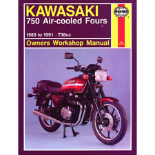 KAWASAKI KZ750 Z750 ZX750 refrigerado por aire canapés 1980-91 Haynes Manual De Taller