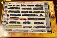 History Of Trains Eurographics Puzzle 1000 Pieces