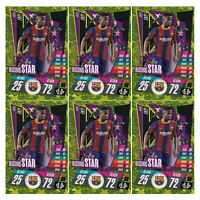 TOPPS CHAMPIONS LEAGUE 20/21 ANSU FATI ROOKIE CARDS LOT OF 6