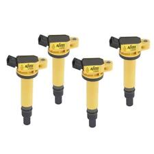 Accel Ignition Coil 140495-4; Super Coil Yellow Coil-On-Plug for 2003-12 Toyota