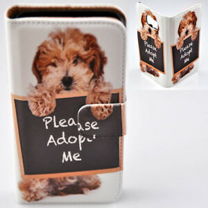 For Huawei Series Mobile Phone - Havanese Dog Print Wallet Phone Case Cover