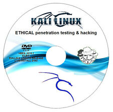 KALI Linux 2017.1 64BIT - Ethical Hacking/Penetration Test PC DVD - Mr.Robot