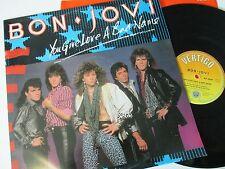 "Bon Jovi-You Give Love A Bad Name-VERX 26-Vinyl-12""-Single-Record-1980s"