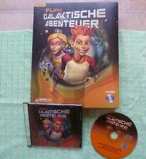 PC CD Rom Jump & Run Adventure - Flipps galaktische Abenteuer + Karton