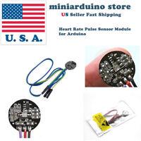 Pulse Sensor Heart Rate Sensor Monitor PulseSensor for Arduino Module Raspberry