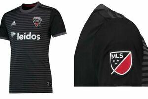 Adidas MLS D.C. United Women's Jersey 7415w Black/Gray/Red