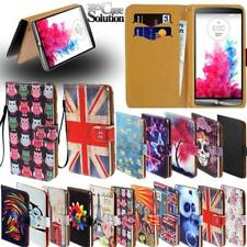 For Various LG Mobile Phones - New Leather Wallet Card Stand Flip Case Cover