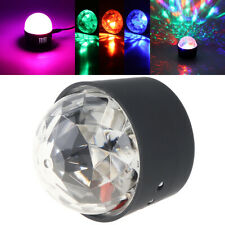 USB RGB LED Disco Stage Lighting Ball DJ Crystal Magic Light Home Night Party