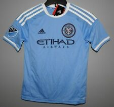 MLS Adidas New York City Football Club #7 Soccer Jersey New Youth Sizes