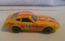 Tomica 1:64 Rare Vintage 1975 Nissan Fairlady 240ZG yellow loose.
