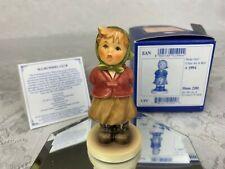 "Mi Hummel Club Membership Figurine Goebel ""Clear As A Bell"" Girl #2181 Boxed"