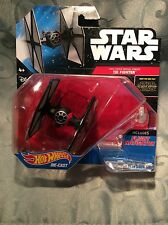 Star Wars Hot Wheels Diecast The Force Awakens First Order Special Forces Tie
