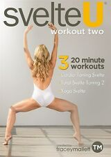 TRACEY MALLETT SVELTE U WORKOUT TWO DVD EXERCISE FITNESS NEW SEALED