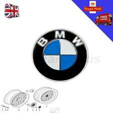 For BMW Badge Alloy Wheel Adhesive Sticker Emblem 70mm