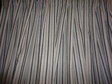 IKEA ALVINE SMAL HIDDEN TAB TOP BLACK TICKING STRIPE (PAIR) LONG DRAPERY PANELS
