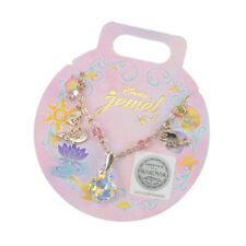 Princess Rapunzel Swarovski Charm Bracelet * Tangled - Disney store Japan