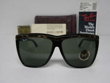 New Vintage B&L Ray Ban Traditionals Marnie Tortoise Ebony W0353 Oversize NOS