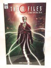 The X-Files X-Mas Special 2016 One-Shot NM- 1st Print IDW Comics