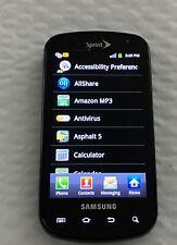 Samsung Epic SPH-D700 Black (Sprint) slider cell phone, no return