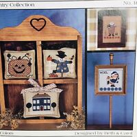 Fanci That Cross Stitch Chart Country Collection #18 Fall Holiday Vintage