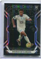 2020-21 Panini Obsidian Soccer Boubacar Kamara Olympique de Marseille RC /195