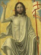BERGOGNONE ITALIAN CHRIST RISENTOMB OLD ART PAINTING POSTER PRINT BB4937A