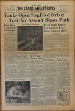 Stars and Stripes Oct 3 1944 - Siegfried Drive - Nazis Play Soccer Til Surrender