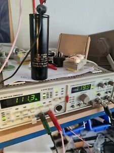 Rubycon Black Gate WKZ capacitor 100 mF + 100 mF 500v Heart of Muse