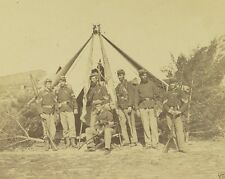 Soldiers with Rifles and Flags Harpers Ferry 1862 New 8x10 US Civil War Photo