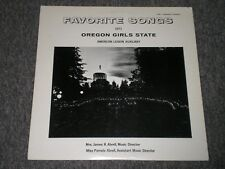 Favorite Songs, 1971 Oregon Girls State American Legion Auxiliary - FAST SHIP