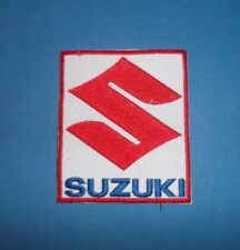 SUZUKI SEW OR IRON ON PATCH