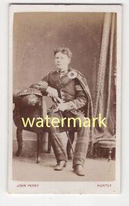 Scottish officer, Huntly, Scotland, CDV