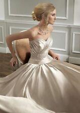 Mori Lee Strapless A-line Wedding Dresses