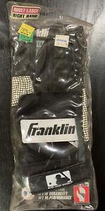 Franklin Leather Batting Glove (Vintage, Adult Large, Right Hand)
