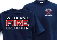 WILDLAND FIRE Medium Firefighter T-Shirt Fire Crew